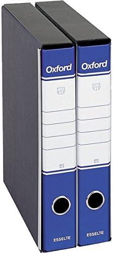 8 pz. 2,38 cad OXFORD raccoglitori protocollo dorso 5-BLU