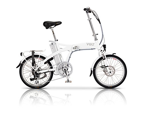 Volt Folding Electric Bike - Metro - Updated 2019 Model - Commuter E Bike - Lightweight and Compact Folding Bike for Men and Women - Award winning UK Brand