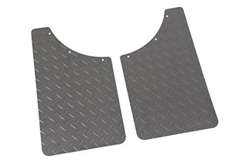 Dee Zee DZ1808TB Texture Black-Tread Universal Mud (S10 Mud Flaps)