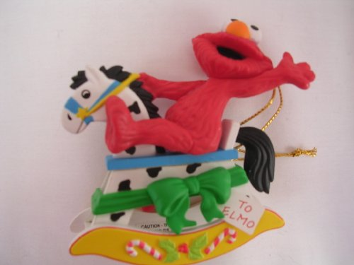 Elmo Christmas on Sesame Street Ornament