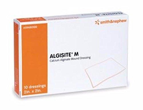 Smith & Nephew Calcium Alginate Dressing AlgiSite M 2 X 2
