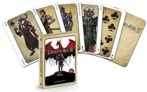Dragon Age II Playing Cards (Dragon Age Origins Best Items)