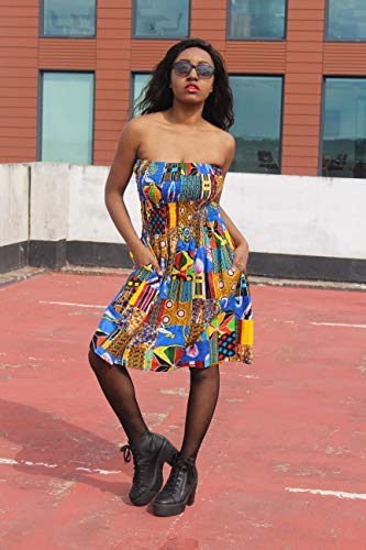 - Patchwork Dress African Print Dress Wax Print Dress Festival Dress Bohemian Dress Boho Dress Continent Clothing Ethical Clothing Boho Dress Patterned Dress