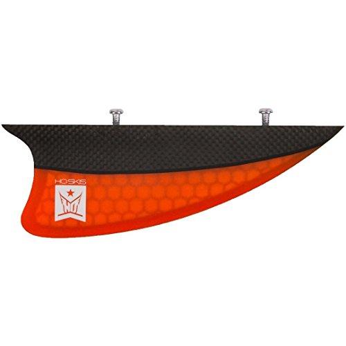 HO 2017 Orange Carbon Water Ski Fin w/Screws by HO Sports