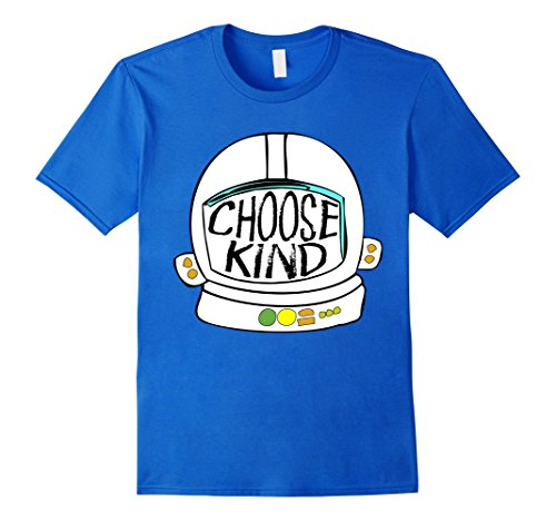 Mens Choose Kind Shirt Choose Kindness Shirt Anti Bullying Shirt 2XL Royal Blue