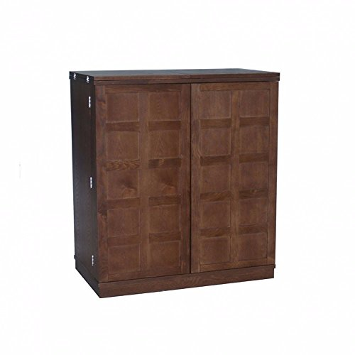 Proman Products Foldable Bar Cabinet, 38