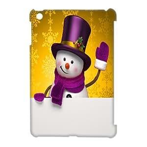 Custom New Case for Ipad Mini 3D, Snowman Phone Case - HL-497983