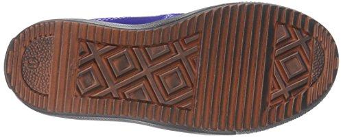 Richter Kinderschuhe Omero - zapatillas deportivas altas de cuero niños azul - Blau (cobalt/pebble/mandar  6901)