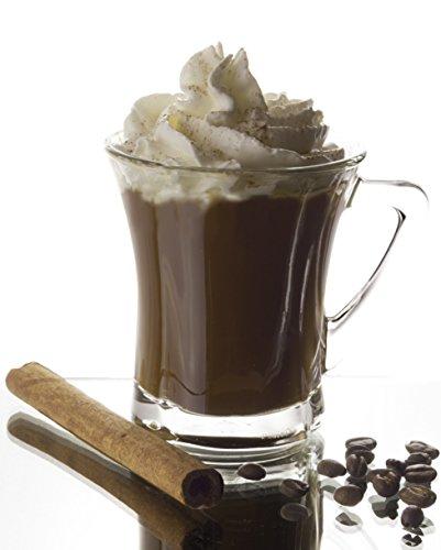 Barista Unconfused Glass Coffee/Cappuccino Mug, 6.8 Ounce - Set of 6