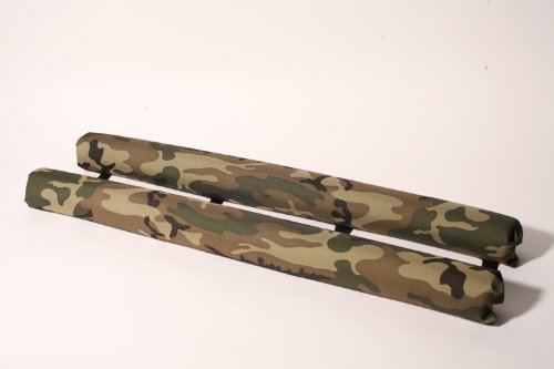 Vitamin Blue 36'' Roof Rack Pads Camo - Non Logo (MADE in U.S.A.) AERO PADS by Vitamin Blue