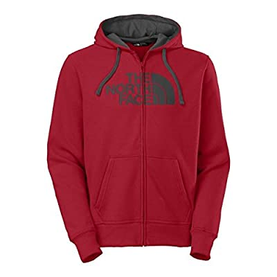 The North Face Half Dome Full Zip Hoodie Mens TNF Red/Asphalt Grey XXL
