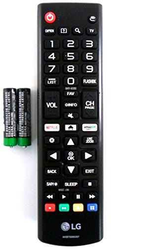 LG AKB75095307 Remote Control for Multiple Models (Remote Control Lg)