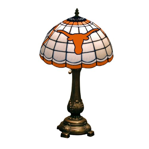 NCAA Texas Longhorns Tiffany Table Lamp