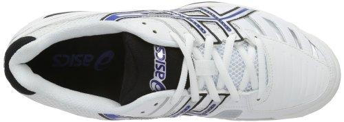 Asics Gel-challenger 9 - Zapatillas de tenis Hombre Weiß (WHITE/BLUE/SILVER 0143)