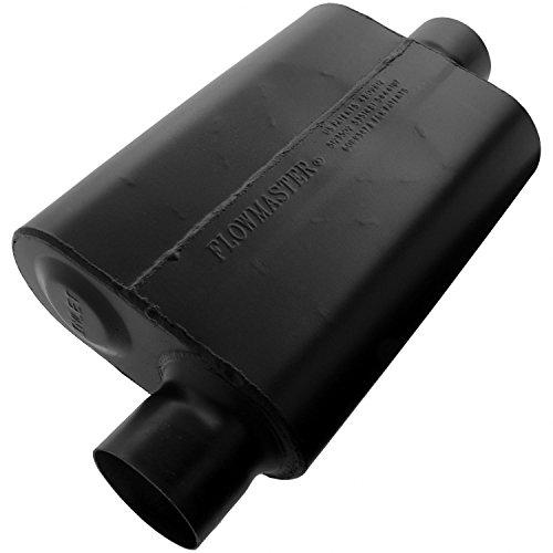 Flowmaster 943046 Super 44 Muffler - 3.00 Offset IN/3.00 Center OUT - Aggressive Sound -