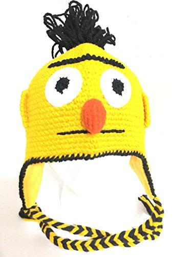 Sesame Street Handmade Winter Hat (Bert Hat)