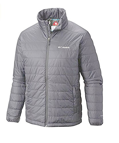 Columbia Mens Crested Butte II Omni Heat Jacket Puffer, Small