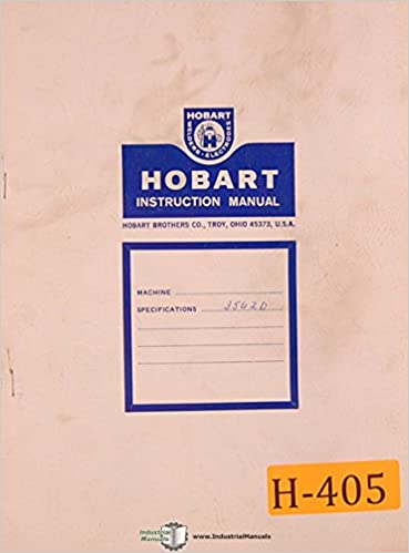 Hobart GA-300, Welding Gun Operations and Parts Manual