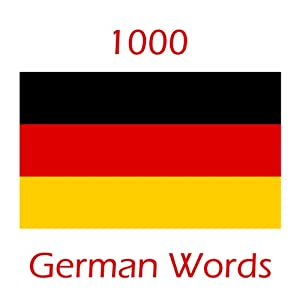 Learn 1000 German Words Audiobook