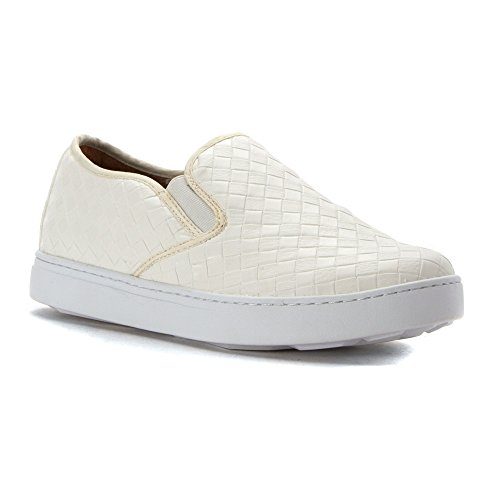 Joy and Mario Womens Oceans Loafers Shoes White TTCbOow