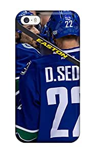 Fashion Tpu Case For Iphone 5/5s- Vancouver Canucks (19) Defender Case Cover