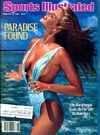 Sports Illustrated Magazine Swimsuit Issue February 10 1986 Elle Macpherson Cover (Paradise Found)