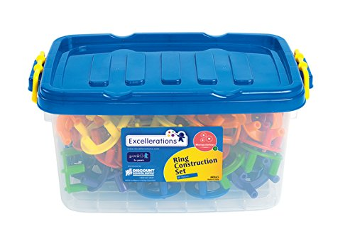 Excellerations Ring Ring Construction Set (Pack of 90)