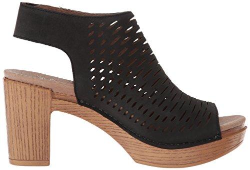 Danae Sandal Dansko black Heeled milled nappa Women's 5qSz7Z