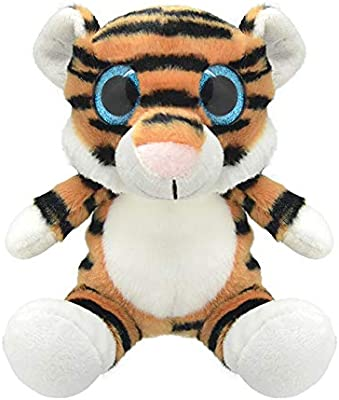 ORBYS Wild Planet 25cm Luxury Handmade Tiger Soft Toy. Plush Toy ...