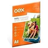 Papel Fotográfico GLOSSY 180G A4 Pacote com 10 Folhas OEX