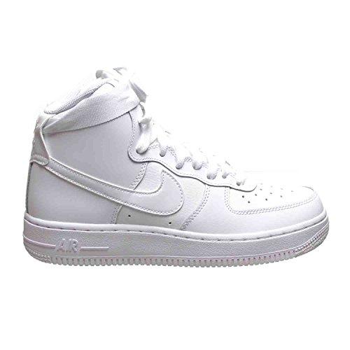 Nike Air Force 1 High (GS) Big Kids Shoes White 653998 100 (7 M US