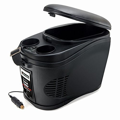 - BLACK+DECKER TC212B Black Portable Travel Cooler/Warmer with 12V DC Power Adaptor: 12 Can 2.3 Gallon Capacity