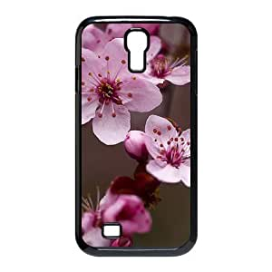 Beautiful cherry blossoms Custom Cover Case with Hard Shell Protection for SamSung Galaxy S4 I9500 Case lxa#473771 Kimberly Kurzendoerfer