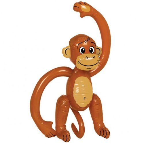 Party Inflatable Monkey 59cm