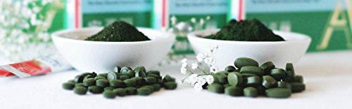 SUN CHLORELLA - Chlorella Supplement (500 Mg - 600 Tablets, 2 Pack) by Sun Chlorella (Image #1)