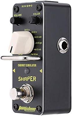 Doolland ASR-3 Shaper Cabinet Simulator Mini pedal de efecto de ...
