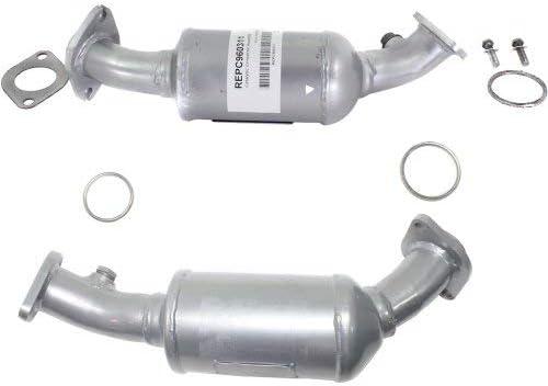 2000-2004 Fit NISSAN Frontier 2.4L Front Catalytic Converter