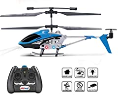 Experience the thrill of flight with brand new HAK303 Helicopter! It is ready-to-fly for superb entertaining flights. Achieve a whole new perspective looking down from sky!Specifications and Features Helicopter dimensions: 8.9 x 2 x 4 inches ...