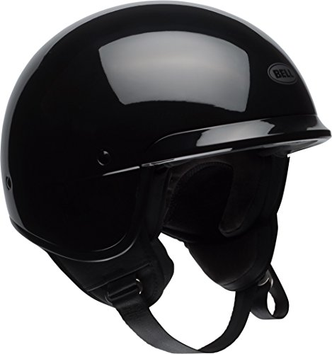 Bell Scout Air Motorcycle Helmet (Solid Gloss Black, X-Large)