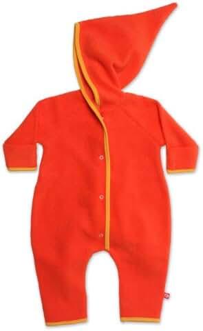 Zutano Unisex Baby Cozie Elf Romper