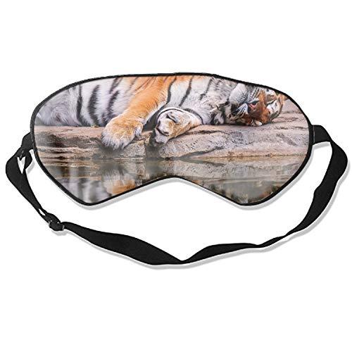 Sleep Mask Tiger Eye Cover, Soft & Comfortable Blindfold for Total Blackout & Light Blocking, Best Gift for Women & Men, Ultimate Sleep for Travel & Night Sleep