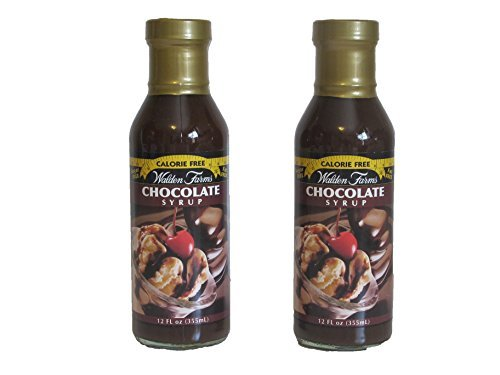Walden Farms Calorie Free Chocolate Syrup 12 oz (Pack of 2)