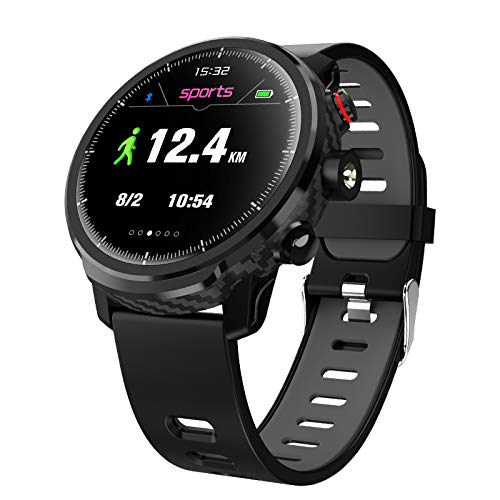 Leotec MultiSport Carbon Sport Fit Negro: Amazon.es: Relojes