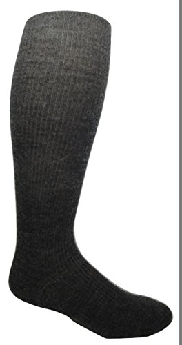 """Military Wool Combat Boot Liner Socks """"over the knee"""" length"""