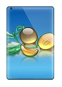 High-end Case Cover Protector For Ipad Mini(aqua Melon)