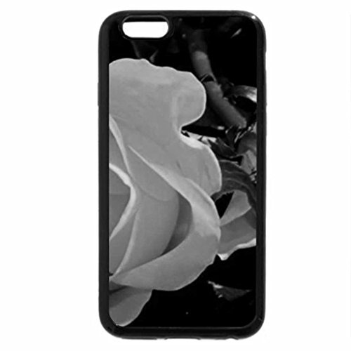 iPhone 6S Case, iPhone 6 Case (Black & White) - Roses
