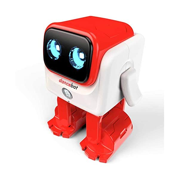 Echeers-Kids-Toys-Dancing-Robot-for-Boys-and-Girls-Educational-Dancing-Robot-Toys-for-Kids-with-Stereo-Bluetooth-Speakers-Rechargeable-Dance-Robot-Follow-Music-Beats-Rhythm-All-Age-Children-Red