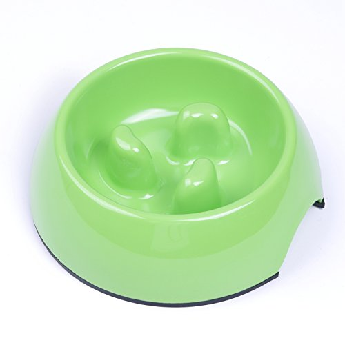 pink slow feed dog bowl - 9