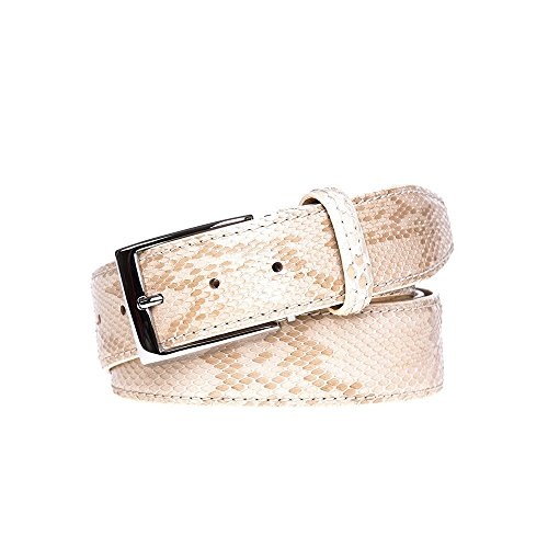 Desert Python Leather Belt by Roger Ximenez: Bespoke Maker of Fine Leather Goods