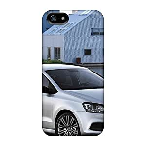 Anti-scratch Case Cover JoinUs Protective Volkswagen Polo Bluegt 2013 Case For Iphone 5/5s